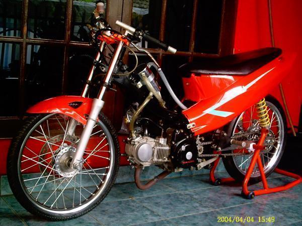Contoh Modifikasi Honda Supra 110 title=