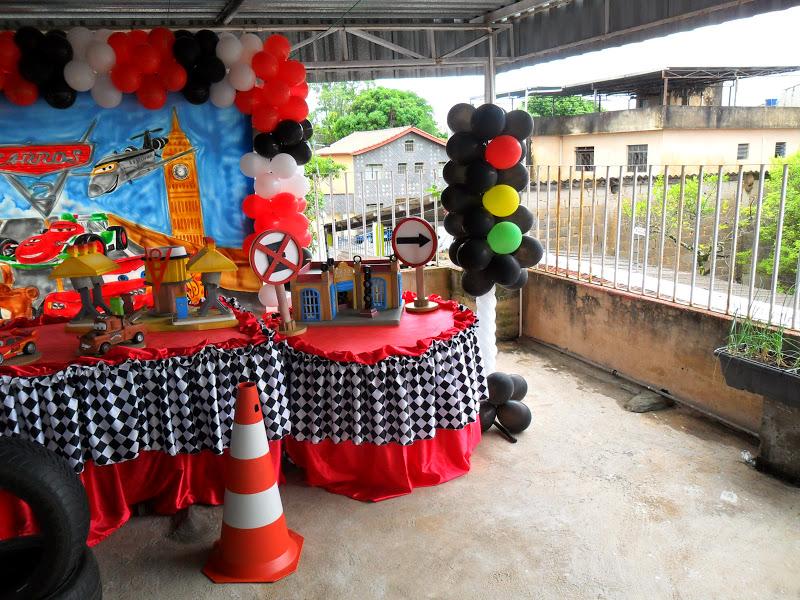 Doce Encanto Festa Relâmpago Mcqueen  Decoração de Festa