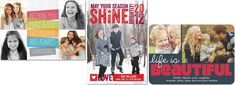 2012 holiday cards