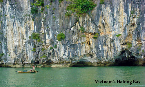 Overview of Vietnam's Halong Bay