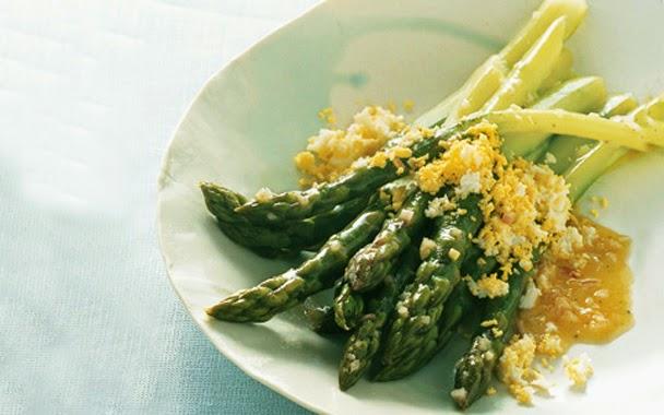 Asparagus Mimosa Recipe
