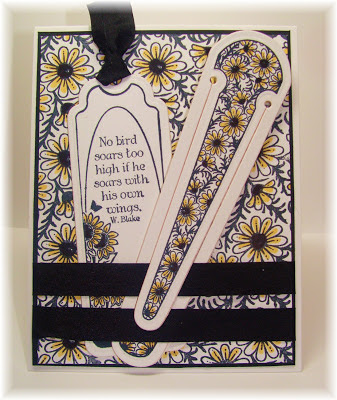 Our Daily Bread Designs, Daisy Background, Bookmark Trees, Bookmark Verses, Bookmark Dies
