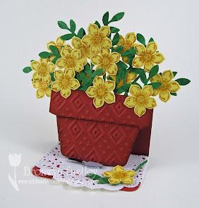 Flowerpot Easel Card Tutorial