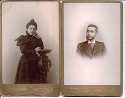 DON AUGUSTO MARTÍNEZ RAMÍREZ Y DOÑA LAURA MARTÍNEZ RAMÍREZ-1908-