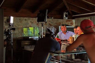 Monachus Monachus Apartments: Ukrainian film crew
