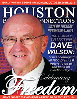 HCC TRUSTEE DAVE WILSON IS ONE OF OUR LEADERS ENCOURAGING YOU TO GO TO THE POLLS TO VOTE