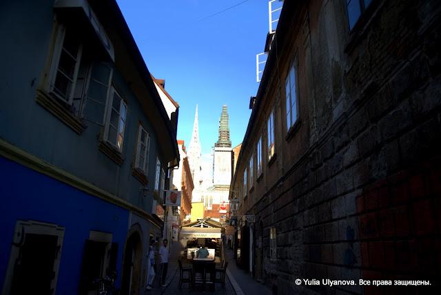 Спуск от Загребского собора, Хорватия