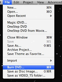 iDVD: Burning a slideshow to DVD