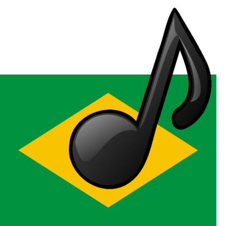 brazil flag music icon
