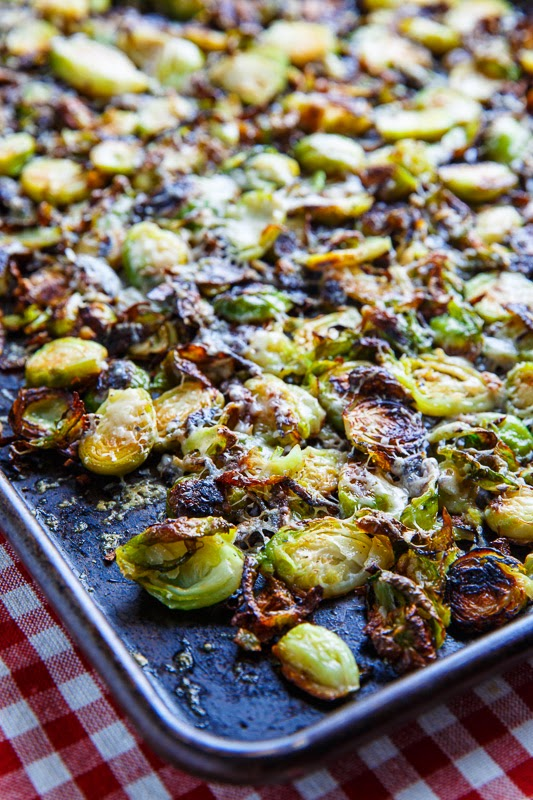 Brussels Sprouts With Smoked Bacon In A Mustard Cream Topped With A ...