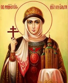 Azi 11 iulie praznuirea Sfintei Olga, Imparateasa Rusiei !