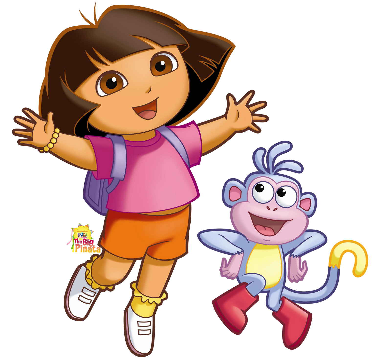 Dora the Explorer Cartoon Characters