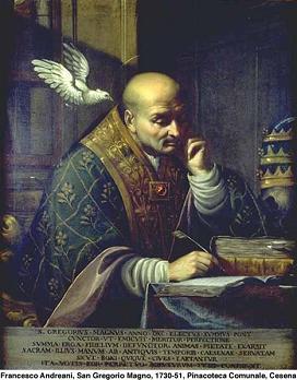 SAN GREGORIO MAGNO Doctor de la Iglesia (540-604). Fiesta 03 de Septiembre