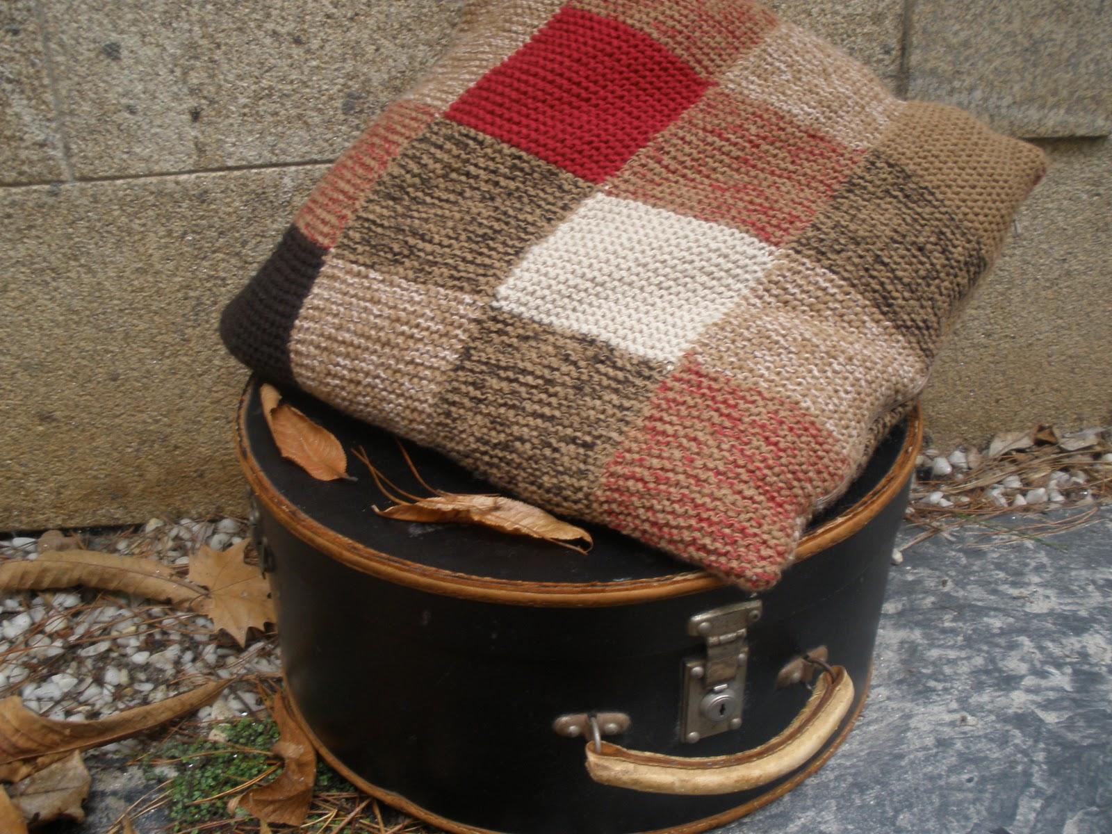 El bosque de lana en el bosque se hacen cojines mantitas - Cojines de lana hechos a mano ...