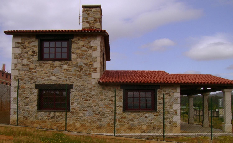 Construcciones r sticas gallegas un caserio for Construcciones minimalistas fotos