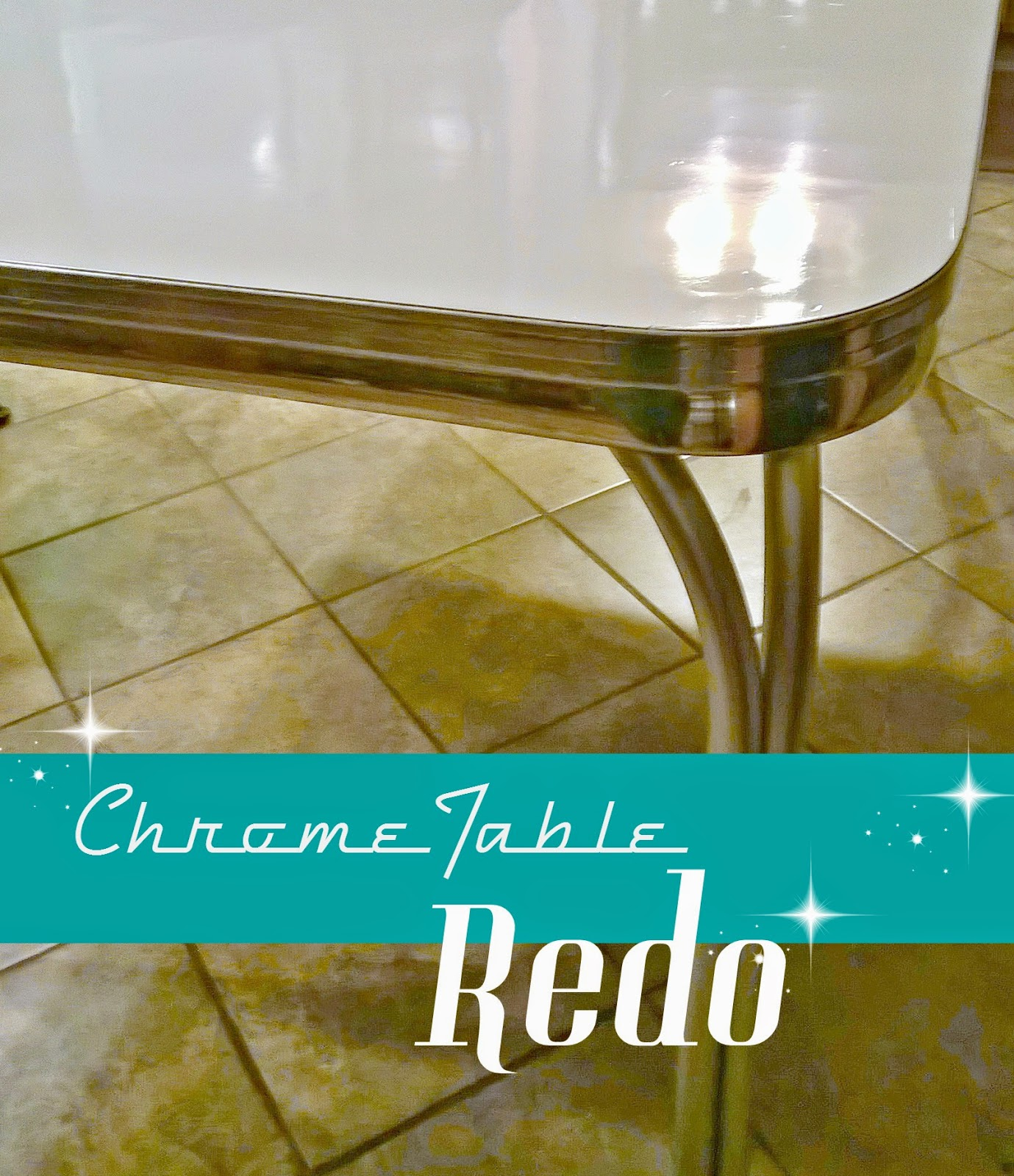 retro chrome table redo redo it yourself inspirations retro