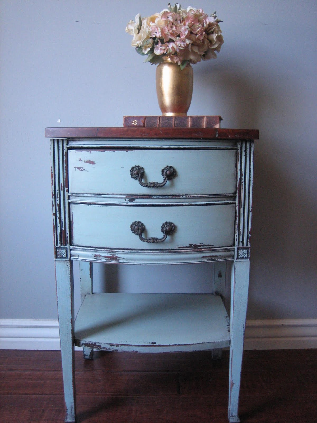 European Paint Finishes: Magazine Holder \u0026 Nightstand~