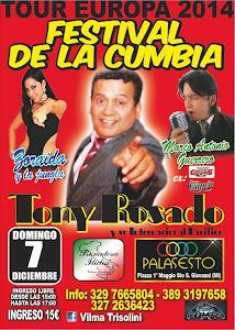 FESTIVAL DE LA CUMBIA - MILANO 7 DE DIC. 2014