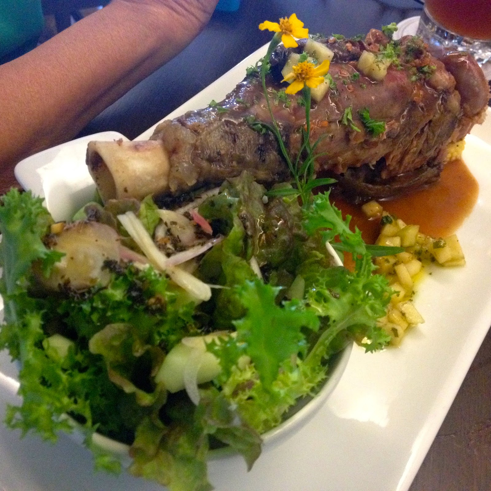 Yummy Lamb Shank at Carnivore Cebu