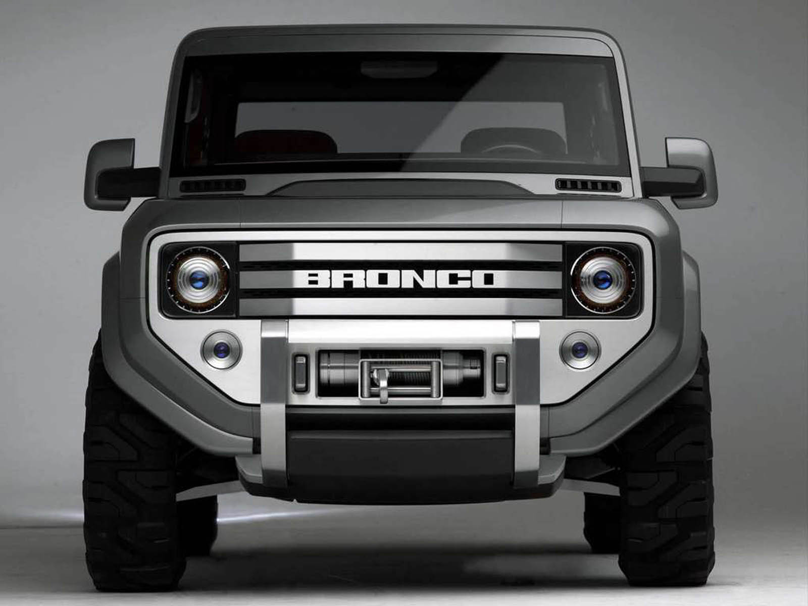 Ford Bronco Concept Car Wallpapers