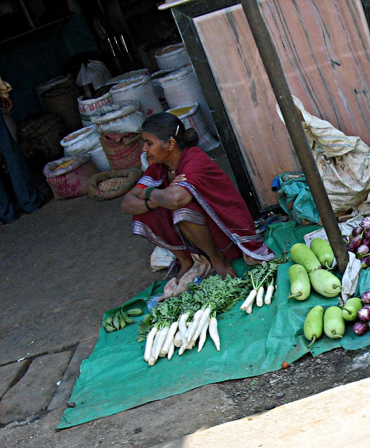 woman vegetable vendor