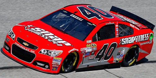 Cup landon cassill first driver to sweep for Cassill motors used cars