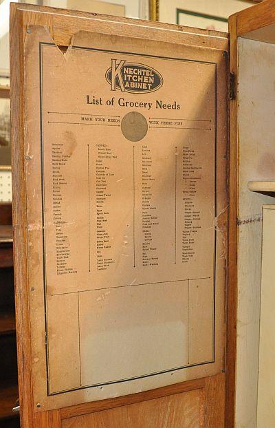 Antiques On Kent Sold Knechtel Kitchen Kabinet