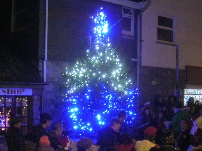 St Ives Christmas Tree - Royal Square - 2012