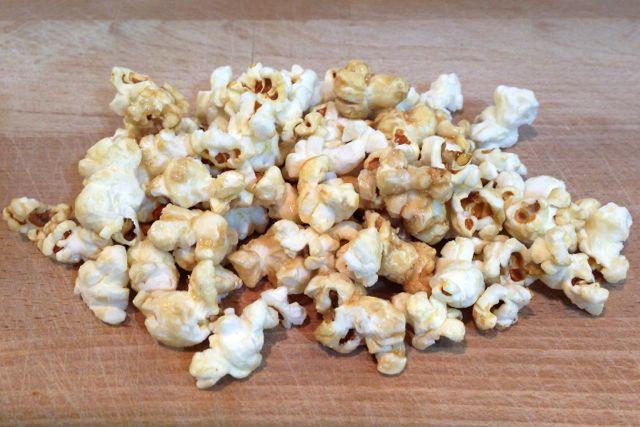 Vegan Sweet and Salty Popcorn