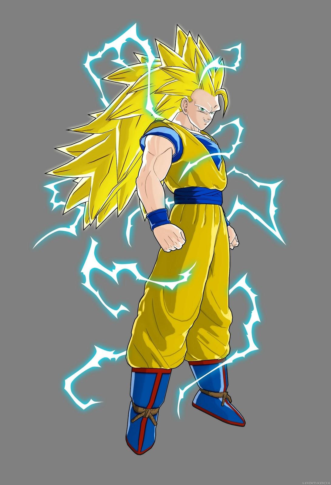 Goku taringa - Sangohan super saiyan 3 ...