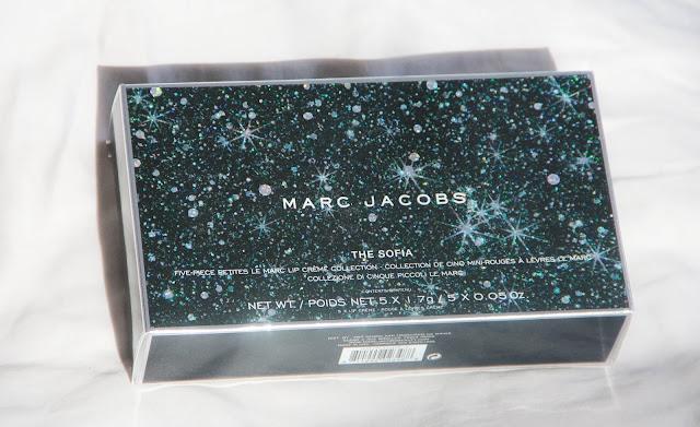 Coffret Noel Marc Jacobs rouge à lèvre