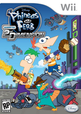 Phineas and Ferb: Across the 2nd Dimension Wii