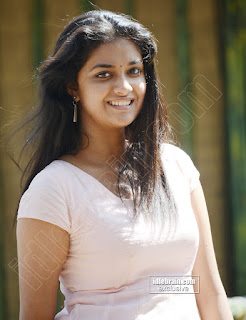 Keerthi Suresh Malayalam Beauty in Light Pink Dress Spicy Pics