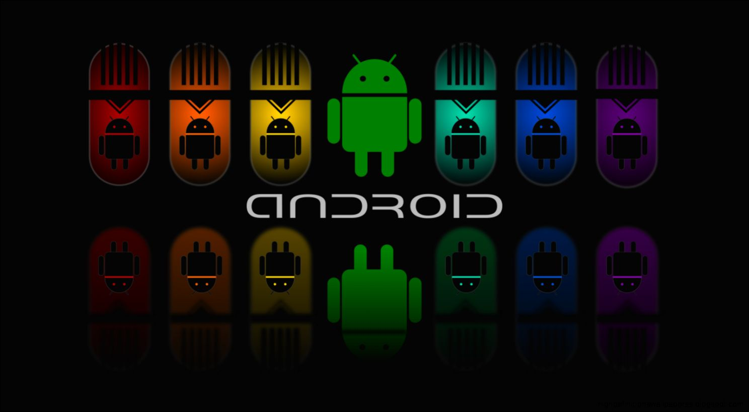 Android Full Colour Dark Hd Wallpaper High Definitions Wallpapers