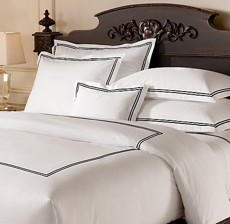 restoration hardwares bed linens are divine exactly what i wanted in our bedroom but 300 really wasnt in our budget so i searched all over craigslist - Restoration Hardware Bedding