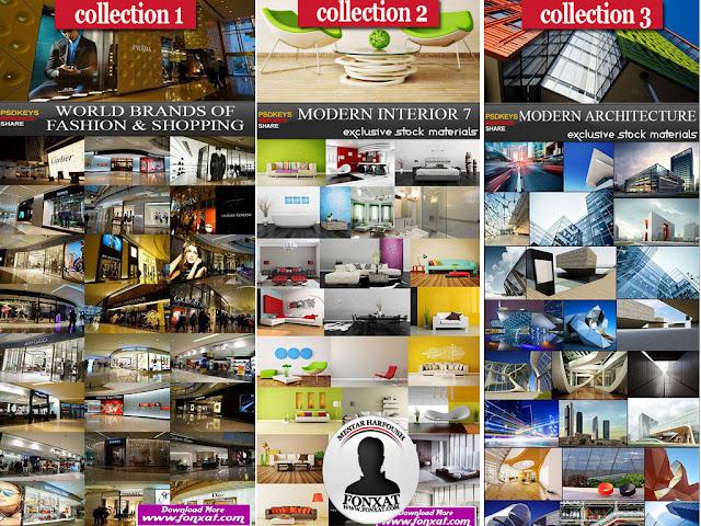 مجموعة كبيرة جدا من الصور عالية الجودة لتصميمات مولات وفنادق من الداخل والخارج