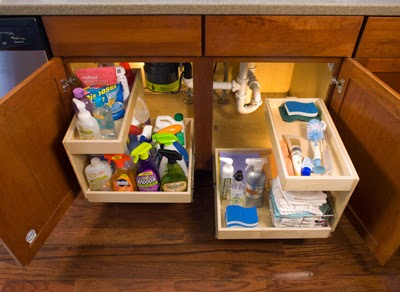Organizing Under The Bathroom Design Sink