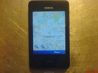 Nokia Asha Here Maps App