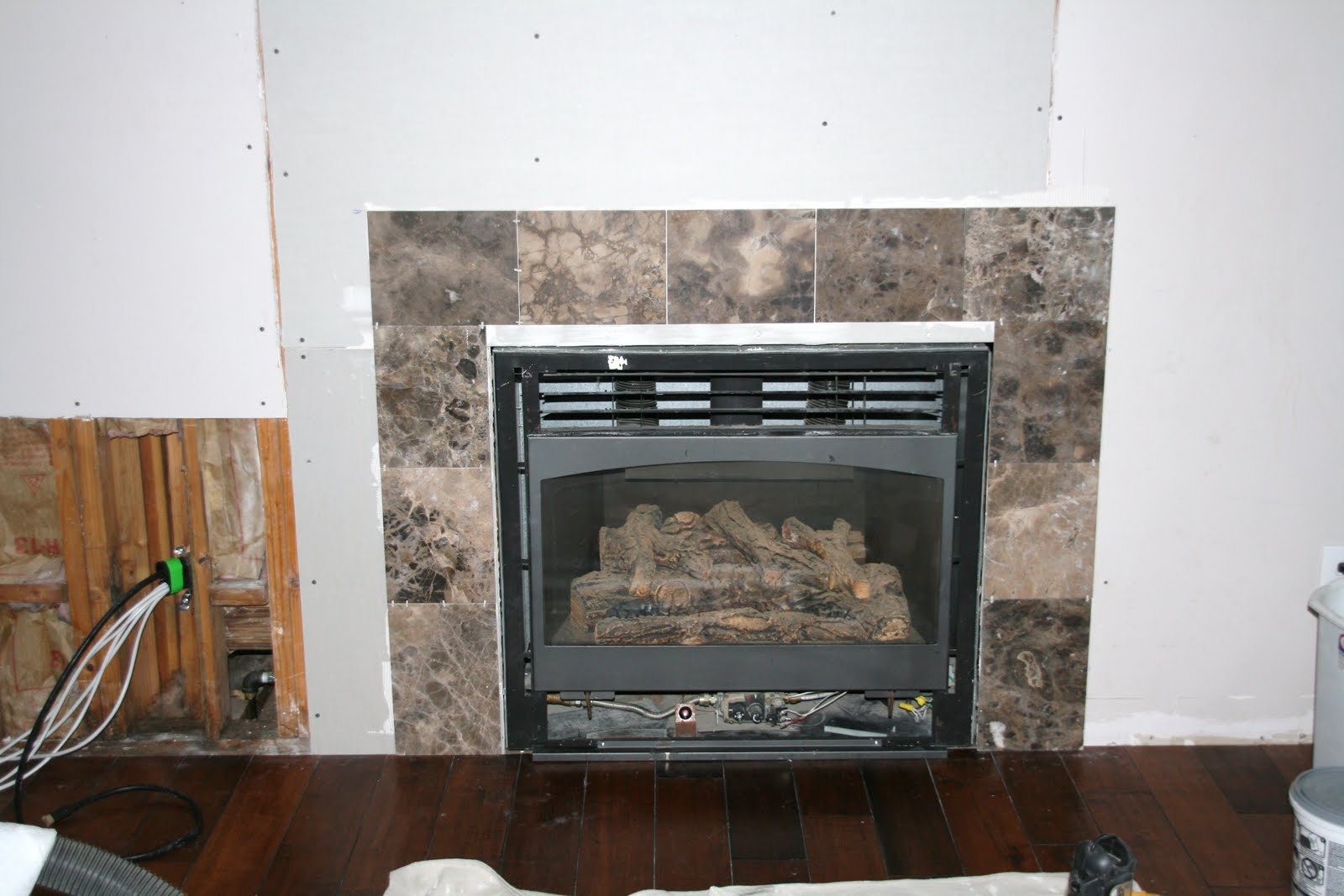 retropolitan fireplace remodel