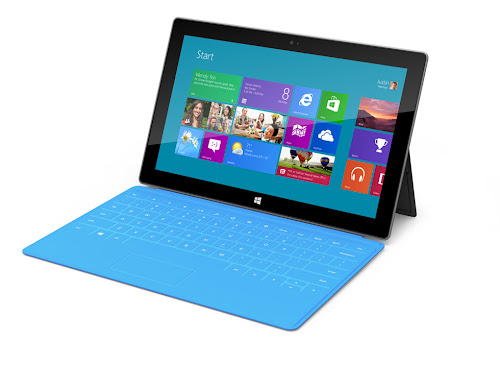 Microsoft Surface: Windows 8-powered Tablet Announced