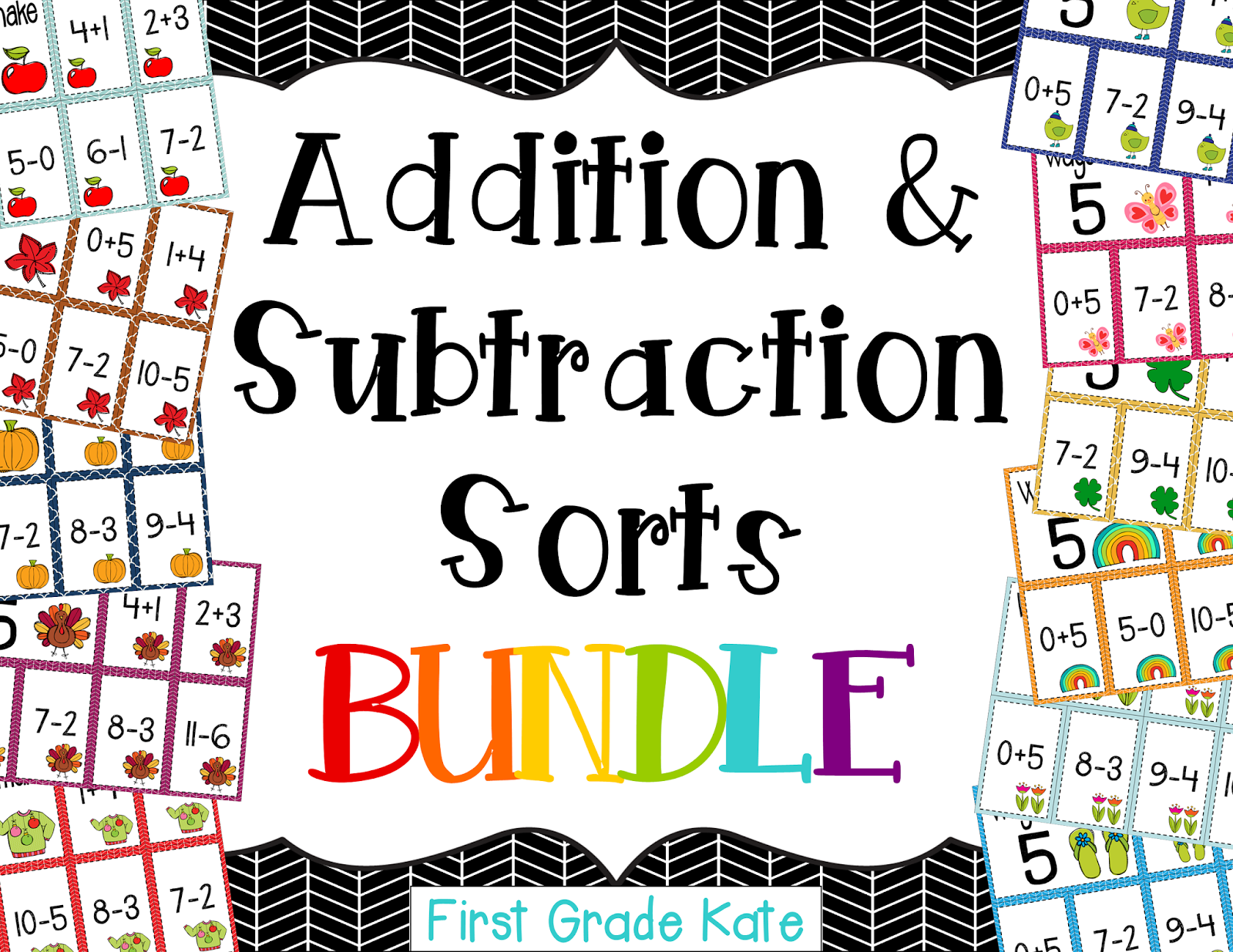 http://www.teacherspayteachers.com/Product/Addition-Subtraction-Fluency-Sorts-BUNDLE-1055813
