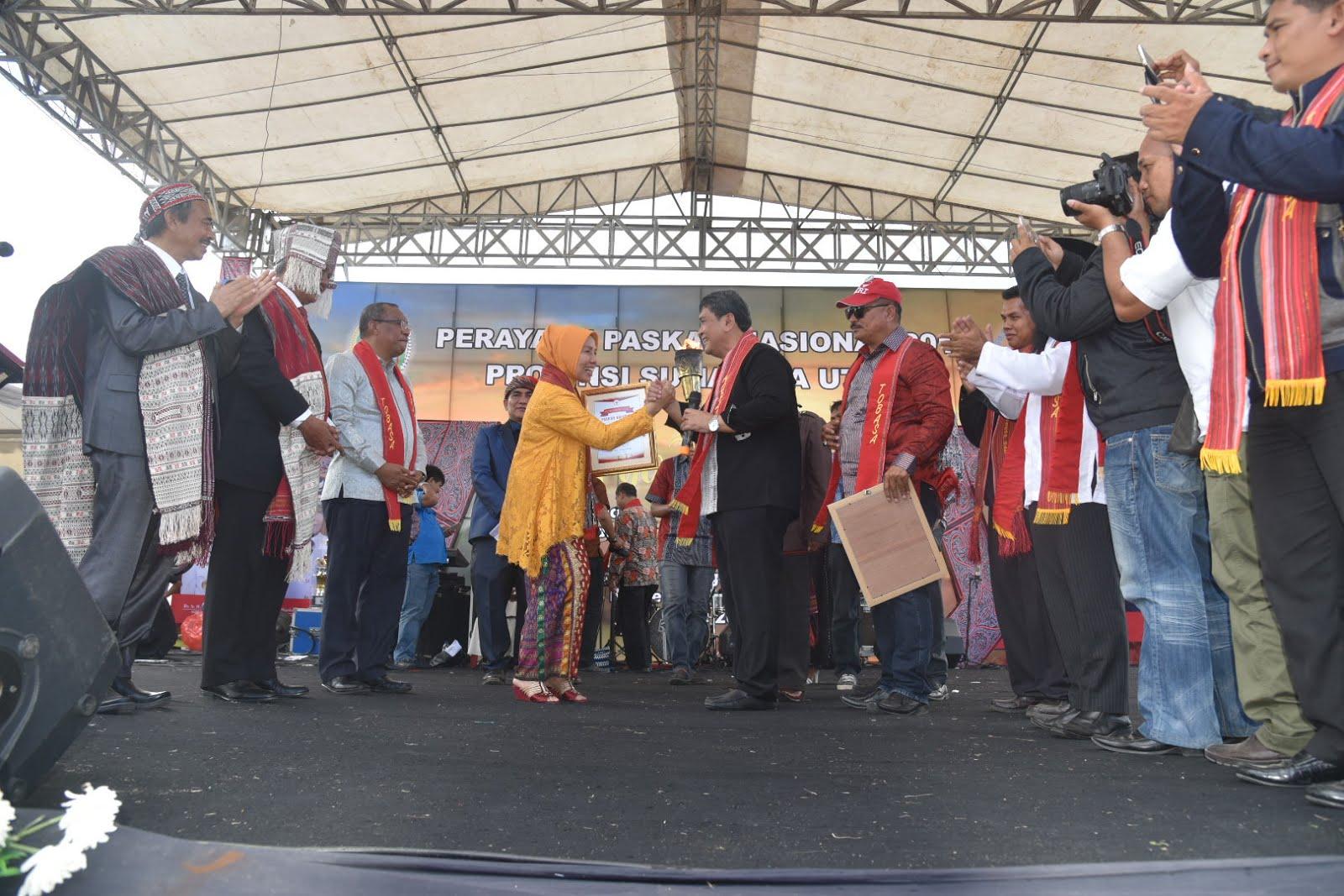 Paskah Nasional Tahun 2018, Wagubsu Ajak Masyarakat Jaga Persaudaraan
