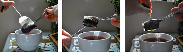 Flashback Summer- Hospitality: Tea Set Essentials, how to remove a tea bag most efficiently