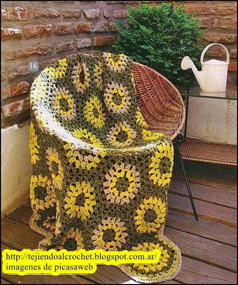crochet fabric , CROCHET - GANCHILLO - PATRONES - GRAFICOS: MANTAS ...