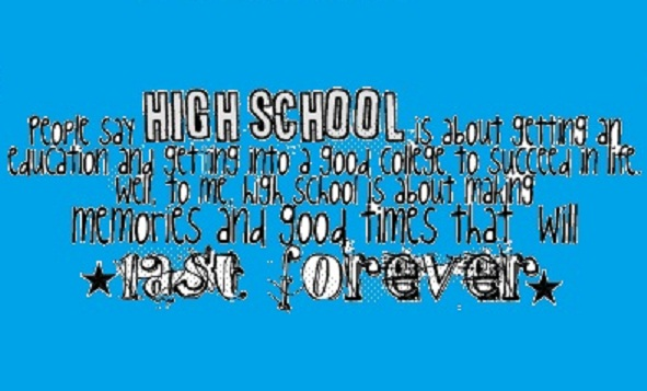 Quotes about high school memories with friends