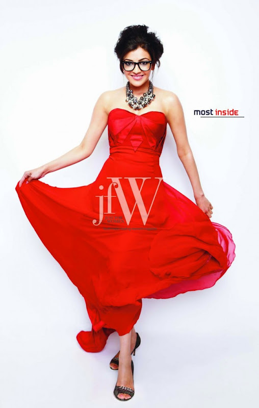 Kajal Agarwal New Photoshoot for JFW Magazine Photoshoot images