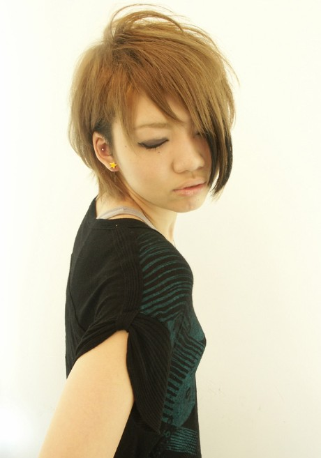 Short Japanese Hairstyles For 2012