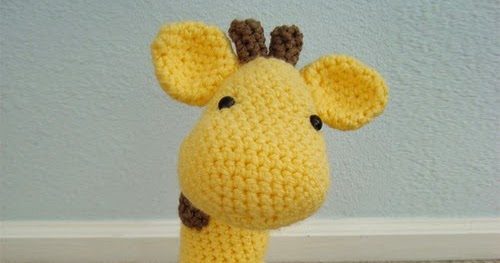 Crochet Guide: Gigi Giraf amigurumi free Pattern