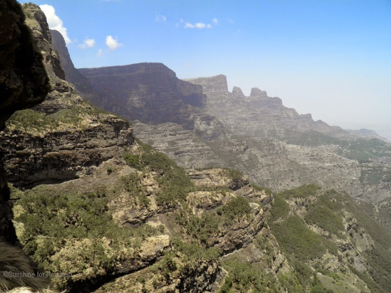 Simien Mountains National Park mountains