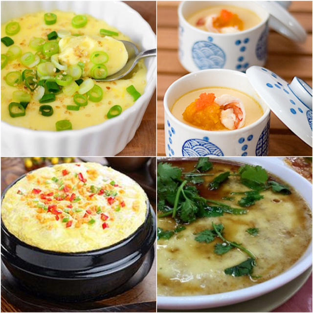COMFORT FOOD: Chinese Steamed Silky Smooth Egg | One Slice of Lemon